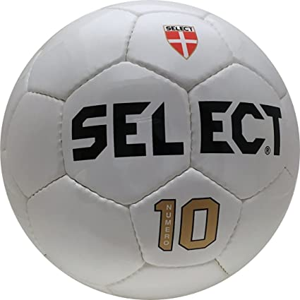 Select Numero 10 - Balón de fútbol, Color Blanco, tamaño Medium ...