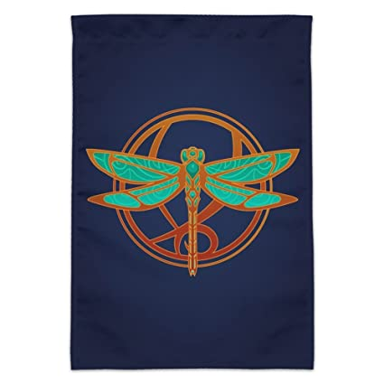 Dragonfly Elegant Garden Yard Flag