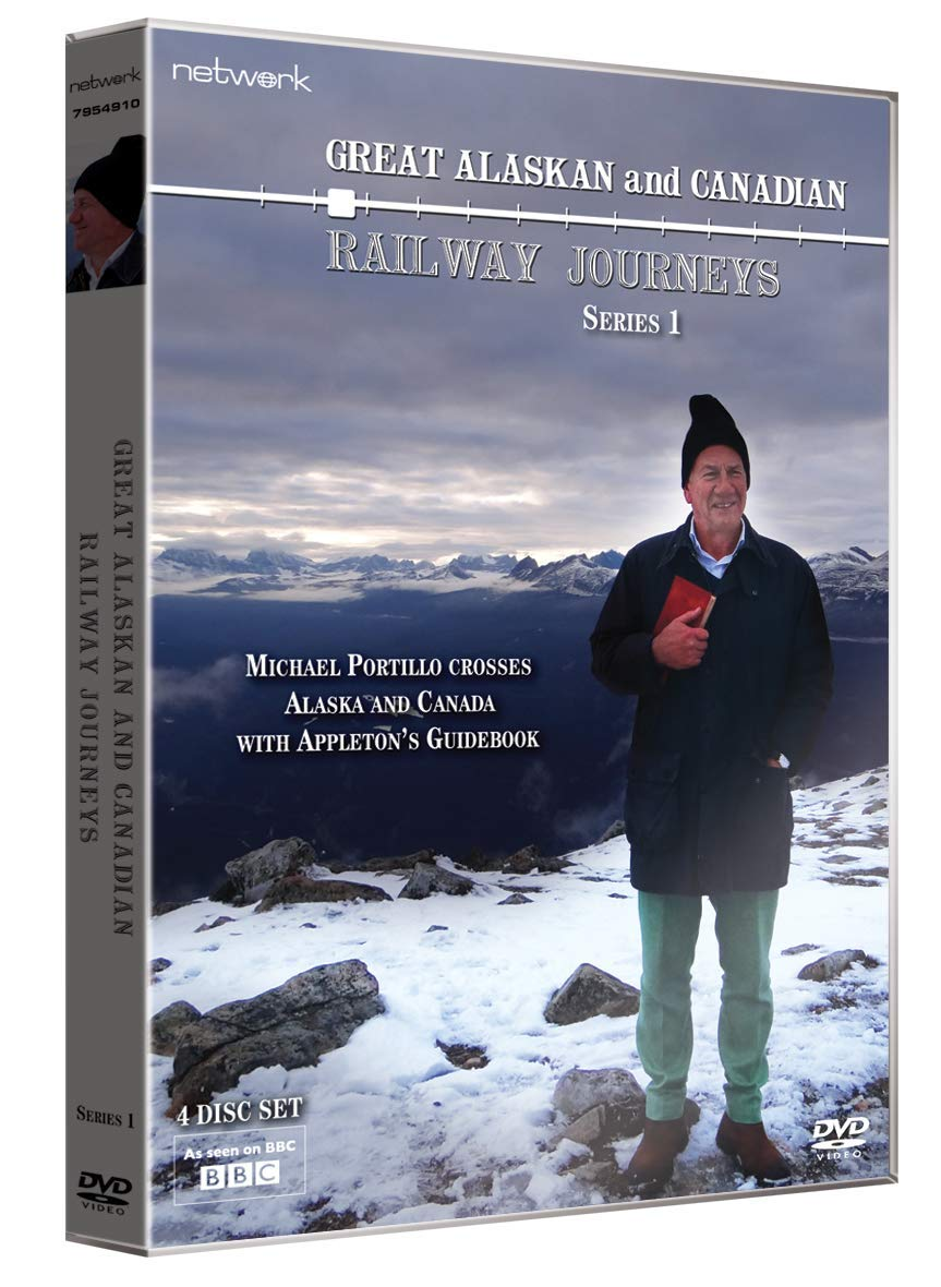 4e7fd23f7a871 Great Alaskan and Canadian Railway Journeys: Series 1 DVD: Amazon.co ...