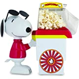 Smart Planet PNP‐1 Peanuts Snoopy Popcorn Cart Air Popper, Red