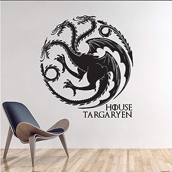 Makeyong Juego De Tronos Casa Etiqueta De La Pared Decoración Para ...