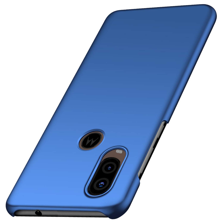 Funda Para Motorola One Vision Super Delgada, Azul