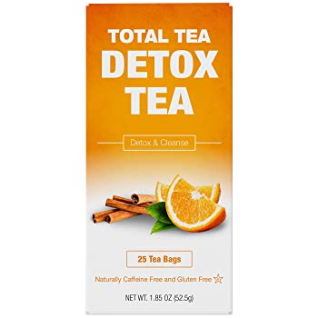 Total Tea 25-Bags Detox Tea