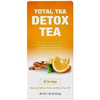 TotalTea natural herbs caffeine-free detox tea