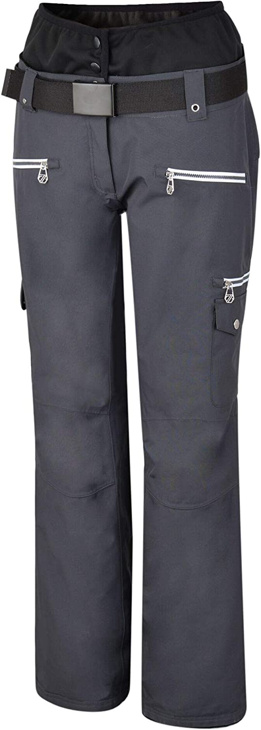 Esqui Dare 2b Liberty Pant Waterproof Breathable Loft Insulated High Waist Ski Snowboard Trouser With Integrated Snow Gaiters Pantalones De Esqui Mujer Deportes Y Aire Libre Ecotest Ir