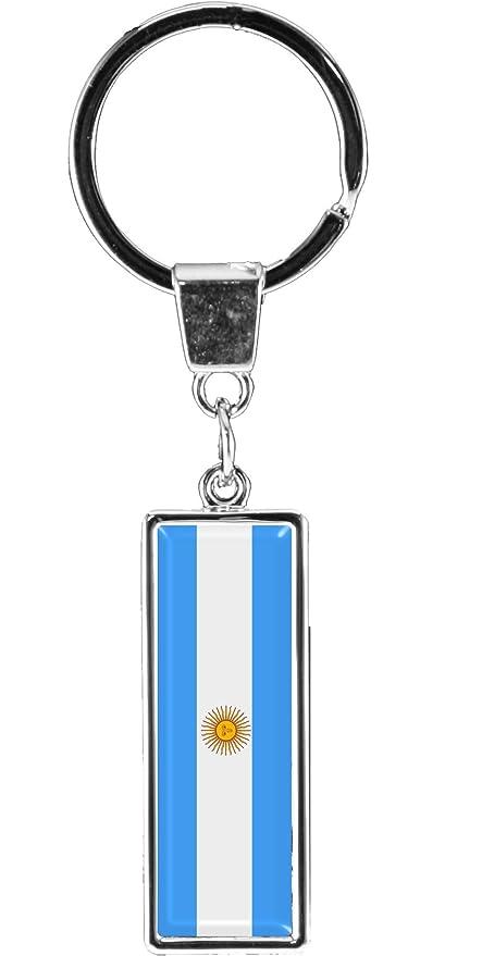 metALUm Llavero de metal/Bandera la Argentina / 6612012S ...
