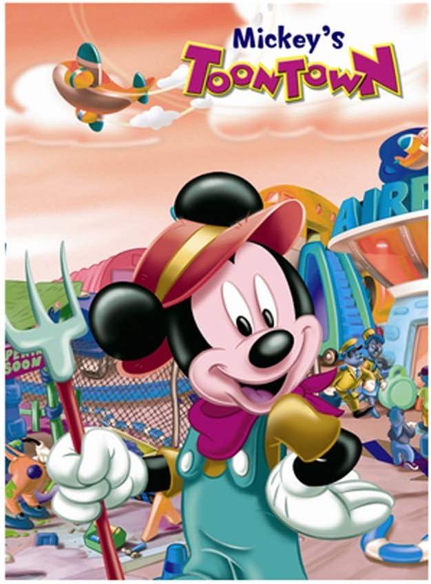VAST Clásico Animado de Mickey Mouse de Disney Mickey Puzzles, Brain Challenge Puzzle en la Mano de la Familia Juegos interactivos, 300/520/1000 Piezas 525 (Color : C , Size : 300pc) : Amazon.es: Juguetes y juegos