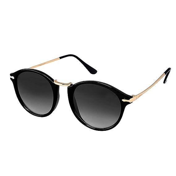 f26bc285ae72 Younky Unisex UV Protected Round Stylish Mercury Sunglasses For Men Women  Boys   Girls (RPRDWAY-BB