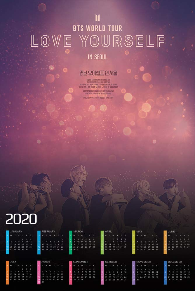 Bts Tour 2020 Usa.Amazon Com Hotprint Bts World Tour Love Yourself In Seoul