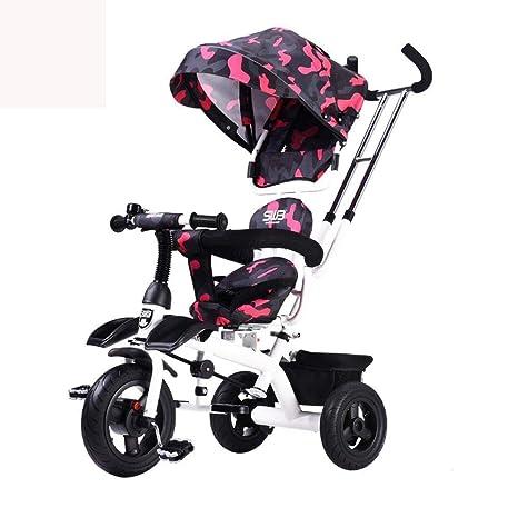 Olydmsky Carro Bebe,Si de niño bebé Bicicleta Rueda He un bebé Carro a Prueba