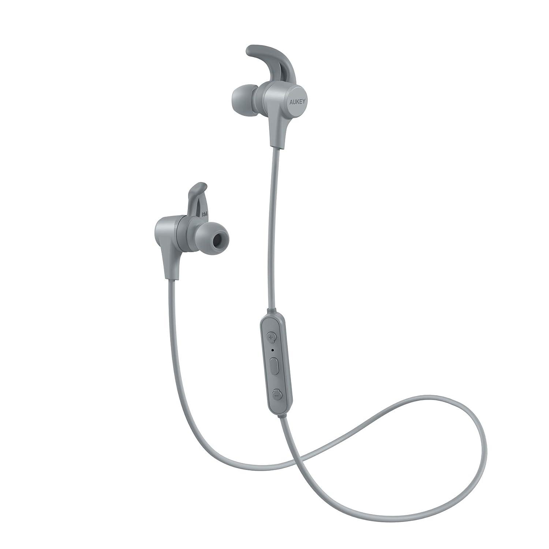 AUKEY Cuffie Bluetooth Sport Bassi Potenziati