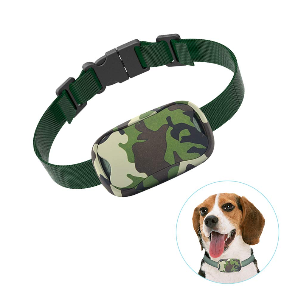 POP VIEW Bark Collar [New Version] Humanely Stops Barking with Sound & Vibration. No Shock, Harmless & Humane, Silver, Small/Medium/Large by POP VIEW