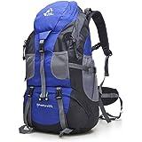 50L Waterproof Ultra Lightweight Hiking Backpack,Frameless,Outdoor Sport Daypack Travel Bag for Climbing Camping Touring Moun