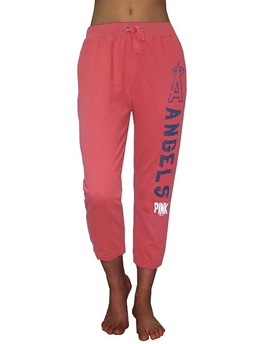 Pink Victoria s Secret - la ángeles Yoga Crop Pantalones, Rojo: Amazon.es: Deportes y aire libre