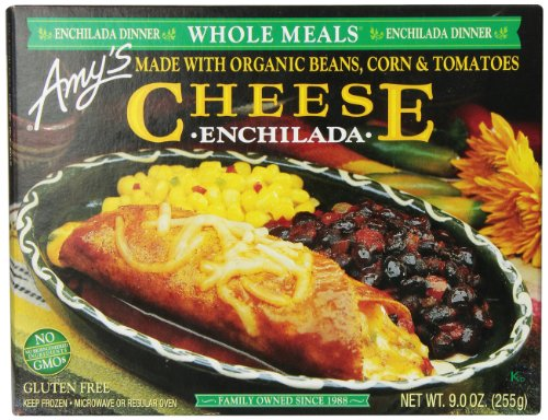 Amy's Cheese Enchilada Meal, 9 Ounce (Frozen)