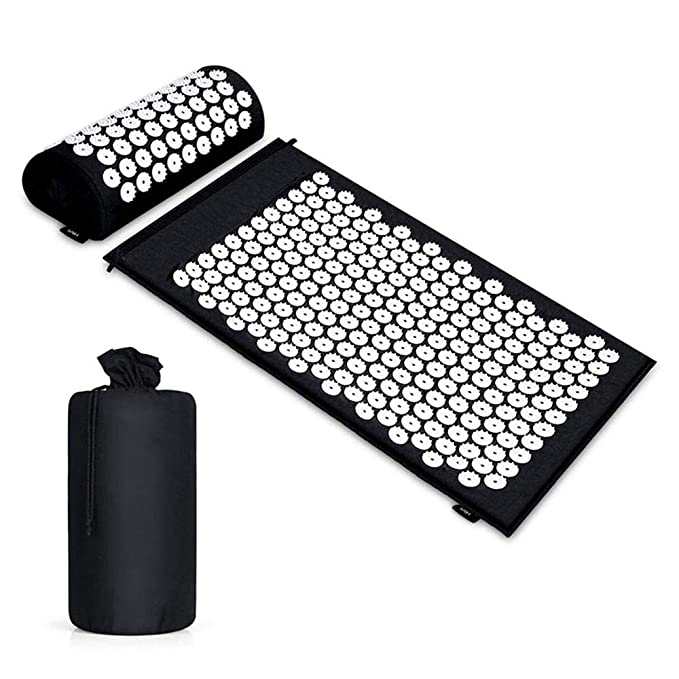 Insense Acupuncture Acupressure Mat and Pillow Set ...