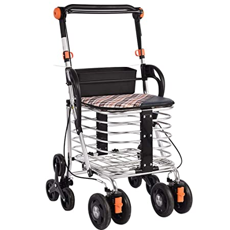 Walk Aid Carro De La Compra, Andador Plegable Mayor con ...