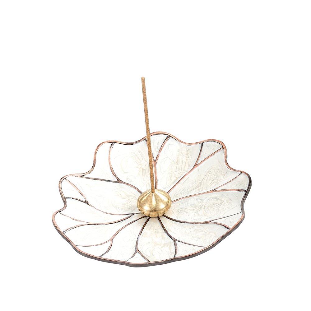 MEDOOSKY Enamel Jewelry Craft Stick Incense Burner and Cone Incense Holder, Japanese-style by MEDOOSKY