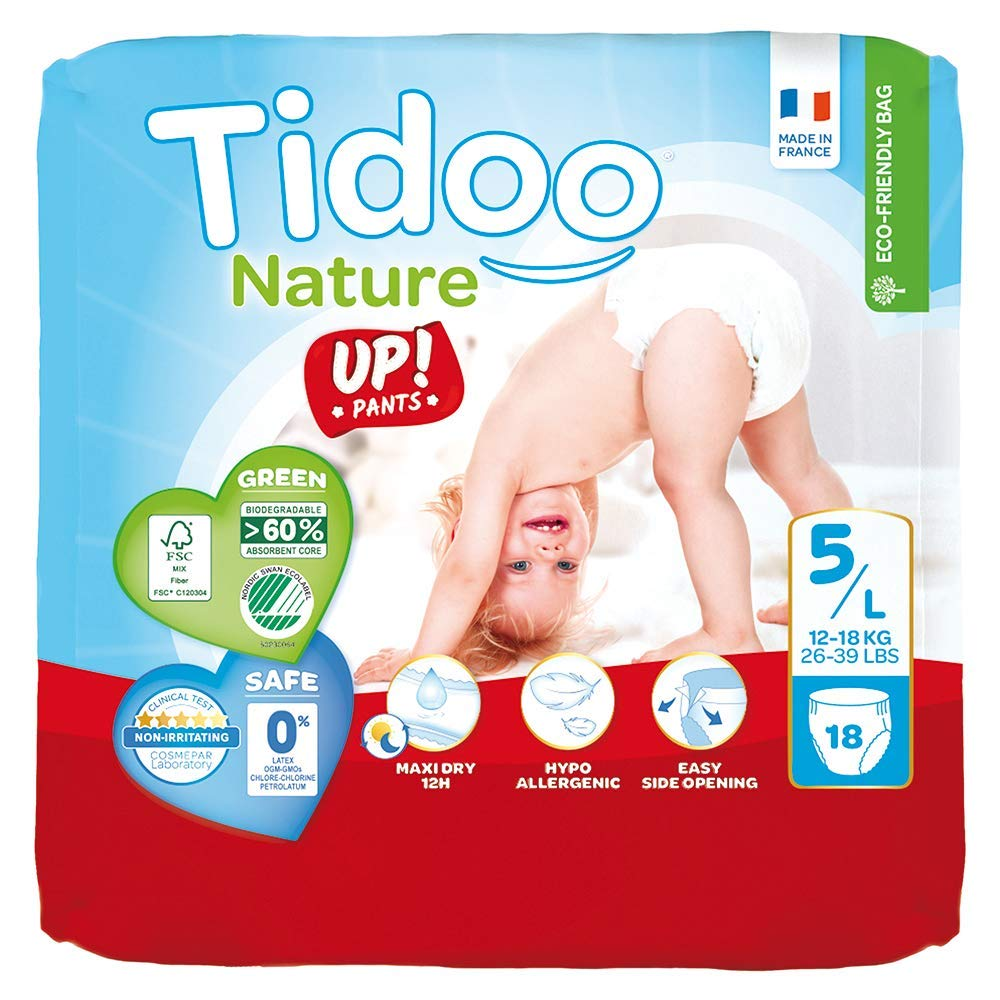Size 5 Tidoo Disposable Baby Training 18 Pants
