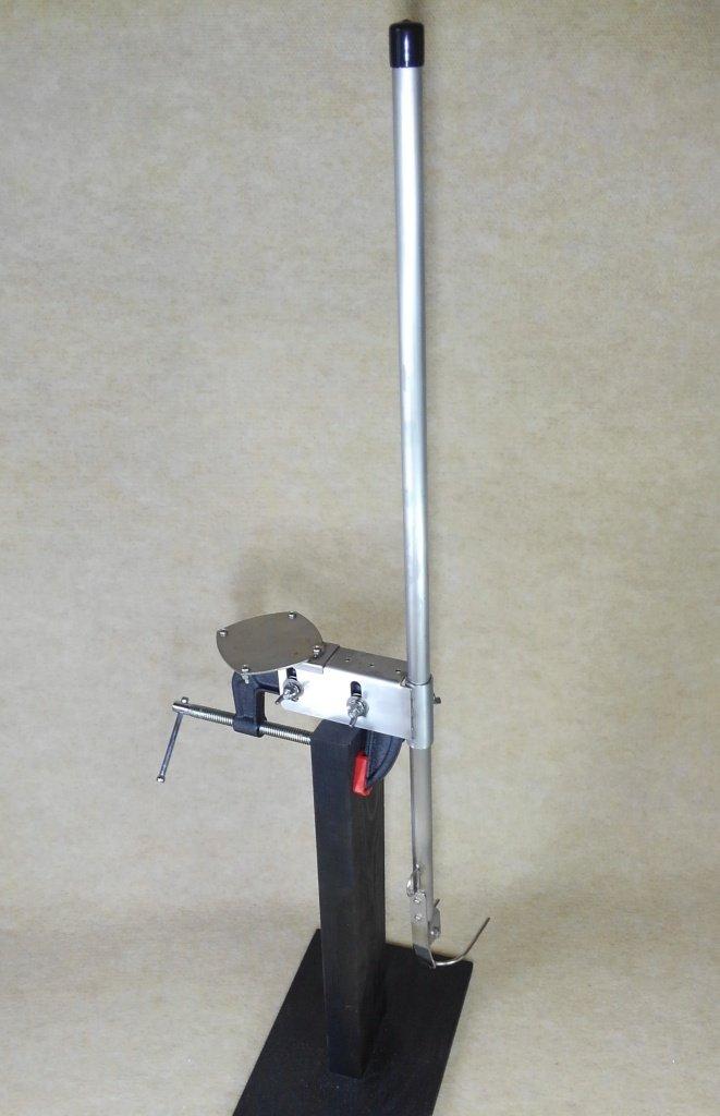 万能パイプ エアーブラケット( ロランス 純正 ロータリー架台用)4周波浅場振動子用   B01DHI9RBE