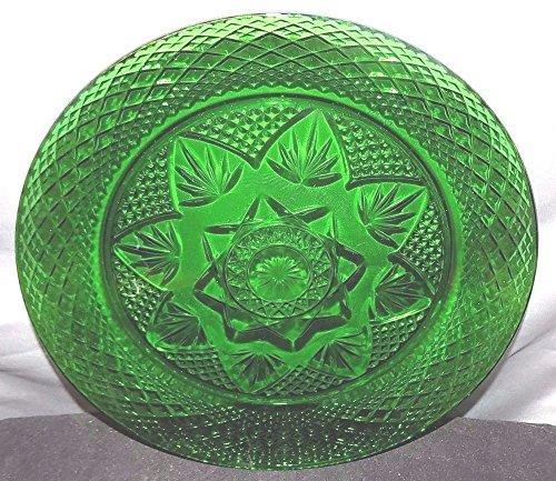 Vintage Forest Green Glass 8