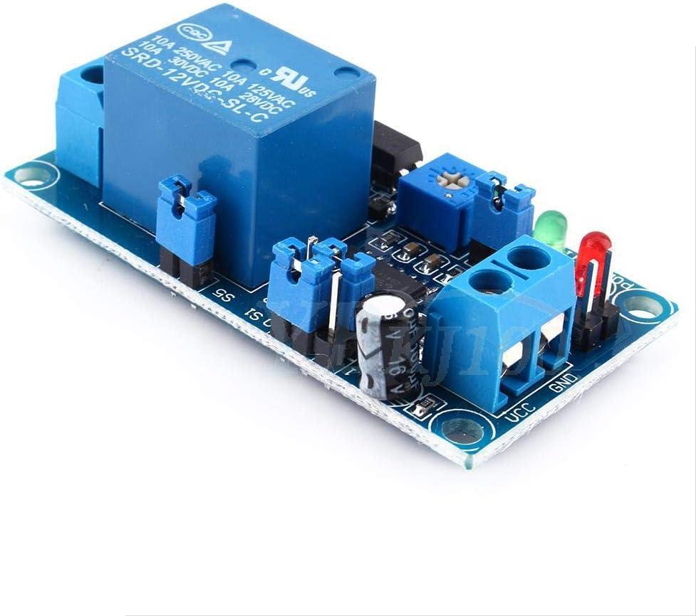 LetCart Delay Relay-Hot 12V DC Relay Delay Apague el m/ódulo del Interruptor con Temporizador