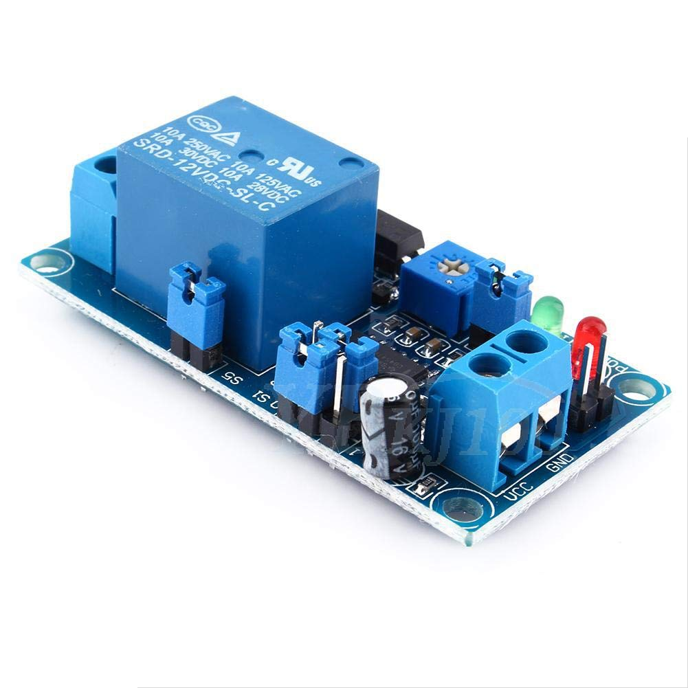 Time Delay Relay Module 12V DC Delay Relay Delay Turn off Switch Module with Timer