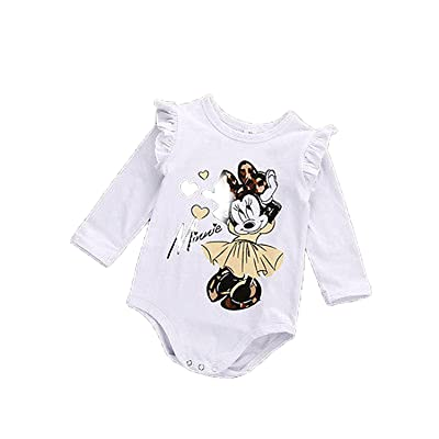Baby Layette White Long Sleeve Jumpsuit Newborn Infant Autumn New Born Wear Children Clothing