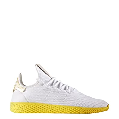 adidas Schuhe - Pw Tennis Hu weißgelbgolden Größe: 38 23
