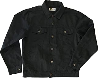 product image for Tellason Made in USA Men's 8 oz Japanese Marcella (Pique) Jean Jacket