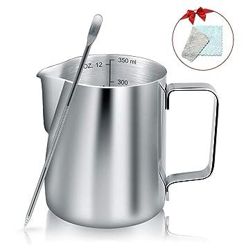 YF wonder lifeTM - Jarra de leche de acero inoxidable para ...