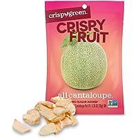 Crispy Green Freeze-Dried Fruit, Single-Serve, Cantaloupe, 0.35 Ounce (Pack of 12)