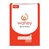 Wahey Perfumed Panty Liners With Cotton Covering - 50 Pcs/Pack