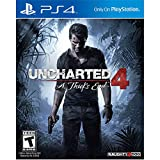 Uncharted 4: A Thief's End Playstation 4 PS4 Open Box