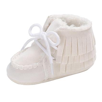 minshao Baby Girl Boy Soft borla patucos botas de nieve Infant ...