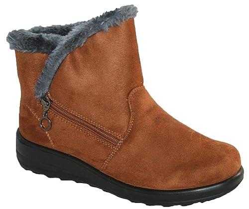 3be0cb84b5bd8 Cushion Walk Olivia Boots Black