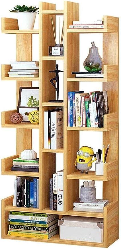 LILIS Estantería libreria 5-grada de Madera Maciza Estantería ...