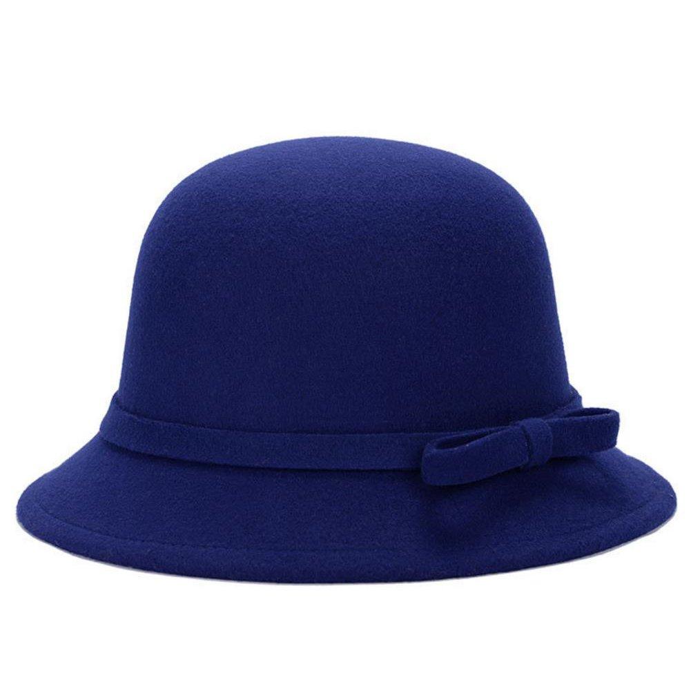Leisial™ Sombrero del Elegante con Arco Algodón Más Caliente Casual Gorro Retro Invierno Otoño para Mujer 41748324T6VC106