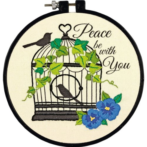 Dimensions Crafts Adult Embroidery Birdcage