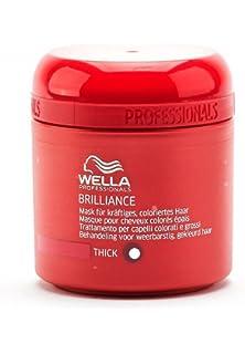 wella professionals masque brilliance pour cheveux colors pais wella 150 ml - Shampoing Wella Cheveux Colors