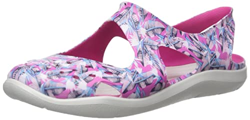 eb1ca1cf Amazon.com | Crocs Women's Swiftwater Wave Graphic Sandal | Shoes