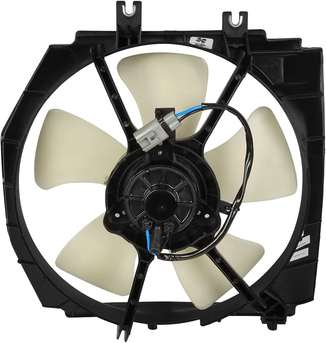 DNA MOTORING OEM-RF-0216 MA3115112 Factory Style Radiator Cooling Fan Assembly