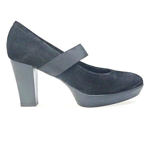 Zapatos 652 es Peep Sport Negro Amazon Toes complementos Sport Salones Joven y Hobby Zapatos 4nqvn0Hr