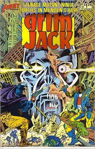 Grimjack #26 TNT (Teenage Mutant Ninja Turtles crossover ...
