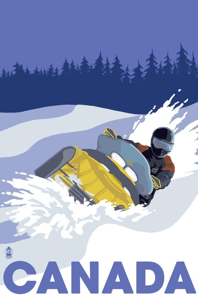 人気大割引 スノーモービルシーン x – カナダ Cotton Towel 54 Towel LANT-25090-TL B017E9ZAIG 36 x 54 Giclee Print 36 x 54 Giclee Print, ジェイピットショップ:85fe5497 --- lazypandafilms.com