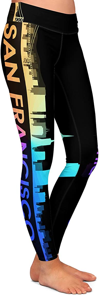 Athletic Yoga Leggings From Dianoche By Angelina Vick City V San Francisco Ca At Amazon Women S Clothing Store