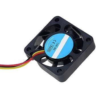 Bestol DC 12 V 3 Pin Ordenador CPU refrigerador Mini Ventilador de ...