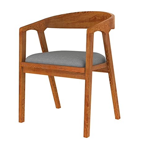 Amazon.com: Taburete de bar Vintage de madera maciza silla ...