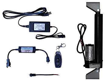 Amazon.com: WindyNation 12 Volt, 225 lbs Linear Actuator + AC to 12 ...
