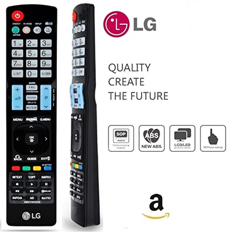 Factory Replacement LG Led/Lcd/Oled Tv's Universal Remote Control